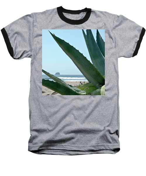Baseball T-Shirt featuring the photograph Agave Ocean Sky by Yurix Sardinelly