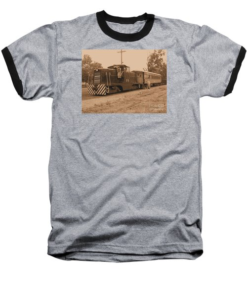 Aged Choo Choo  Baseball T-Shirt