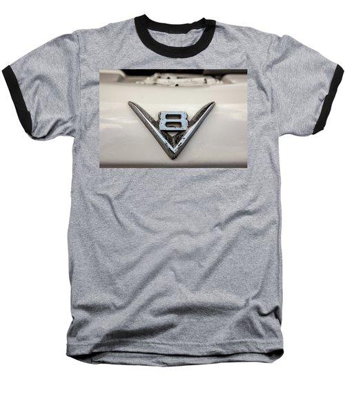Aged V8 Baseball T-Shirt