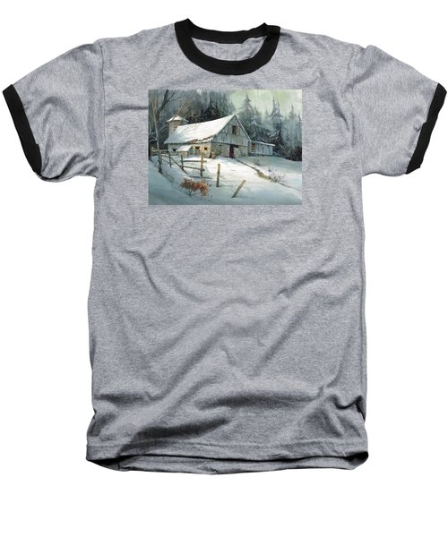 Baseball T-Shirt featuring the painting Ageless Beauty by Michael Humphries