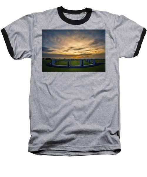 Aggie Bonfire Memorial Baseball T-Shirt