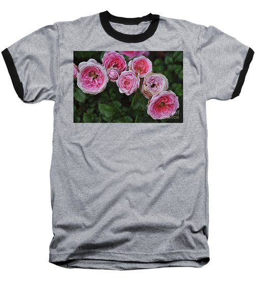 Baseball T-Shirt featuring the photograph Aging Beauties by Gina Savage