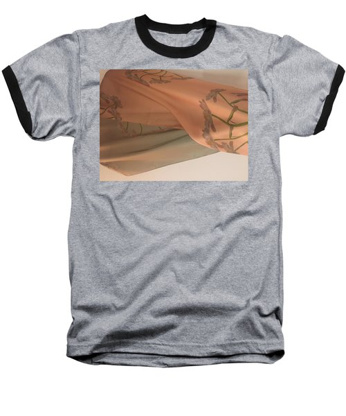 Aging Tulips Silk Baseball T-Shirt