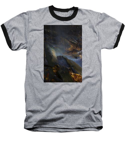 Baseball T-Shirt featuring the photograph Aglow by Ellen Heaverlo