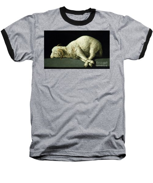 Agnus Dei Baseball T-Shirt
