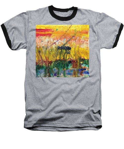 Agriculture Baseball T-Shirt by Phil Strang