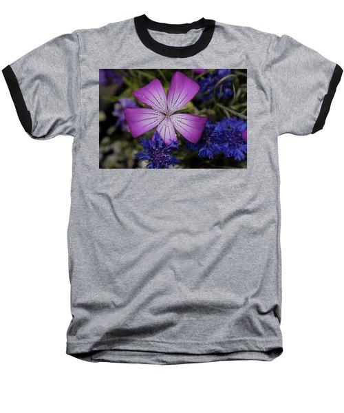 Agrostemma Baseball T-Shirt