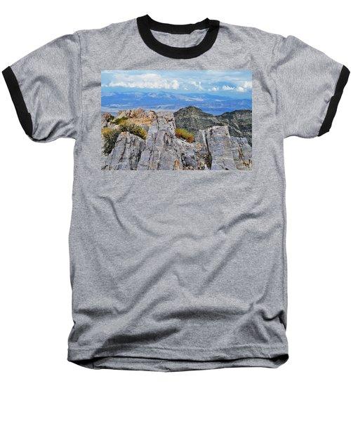 Aguereberry Point Rocks Baseball T-Shirt