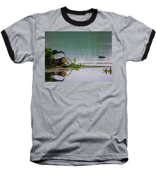 Ah Dubble-dawg Dare Ya Baseball T-Shirt by Kimo Fernandez