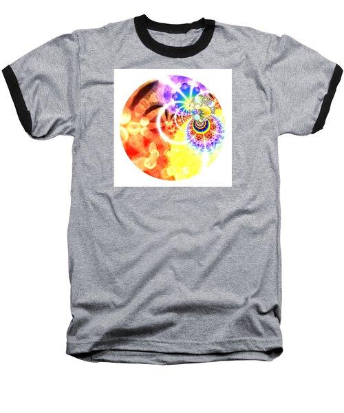 Baseball T-Shirt featuring the digital art Ahau Dots by Robert Thalmeier