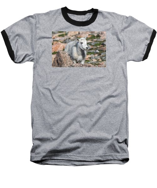 Baseball T-Shirt featuring the photograph Ahhh Da Baby by Stephen  Johnson