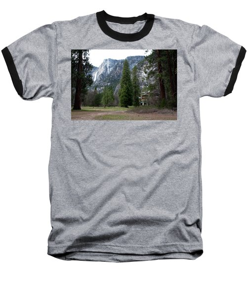 Ahwahnee Setting Baseball T-Shirt