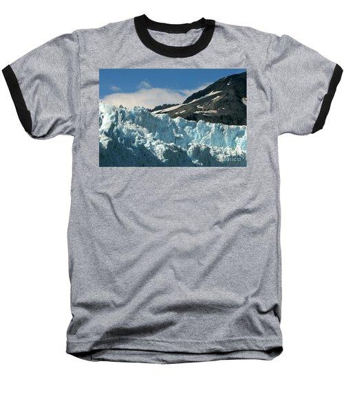 Aialik Glacier Baseball T-Shirt