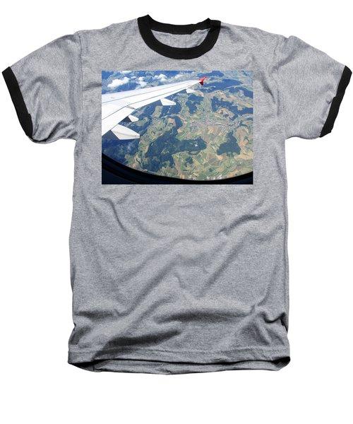 Air Berlin Over Switzerland Baseball T-Shirt