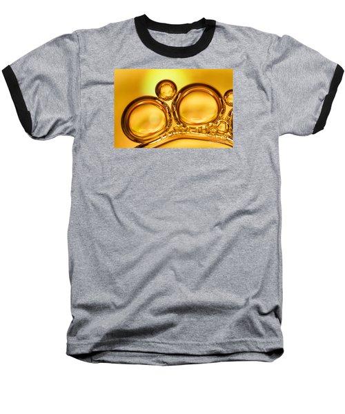 Air Bubbles Baseball T-Shirt by Odon Czintos