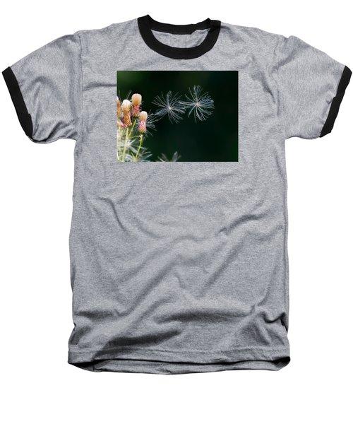 Baseball T-Shirt featuring the photograph Air Dance by Leif Sohlman