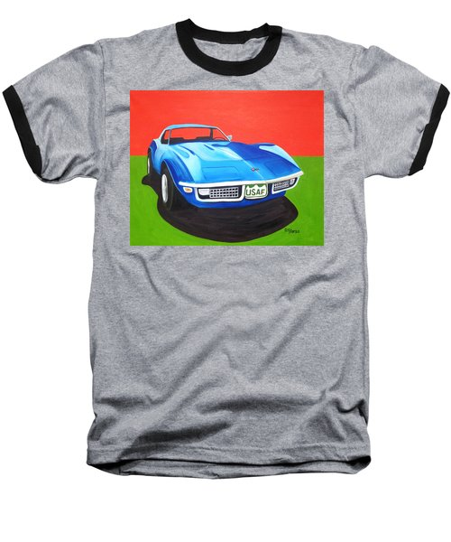 Air Force Vette Baseball T-Shirt