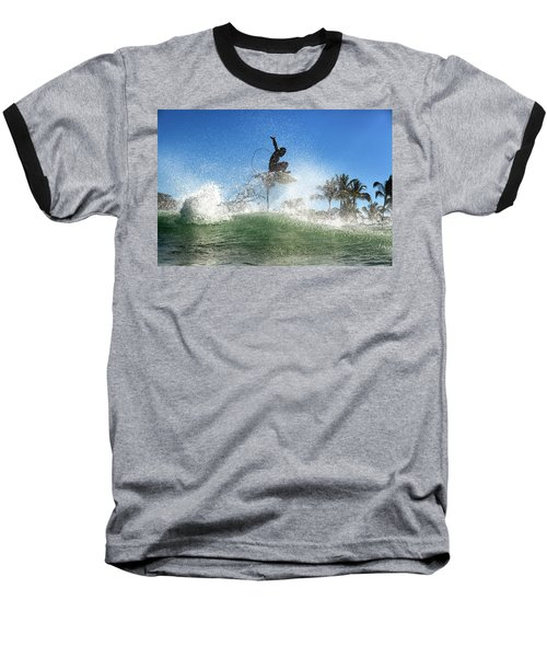 Air Show Baseball T-Shirt