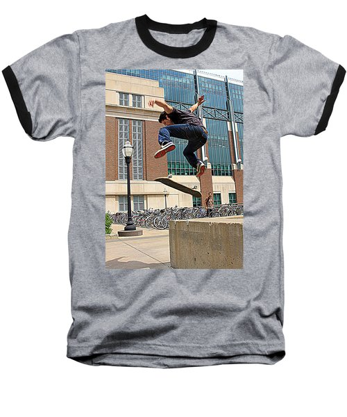 Airborne Baseball T-Shirt