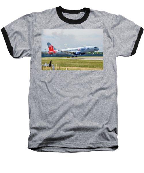 Airbus A320 Boston Strong Baseball T-Shirt