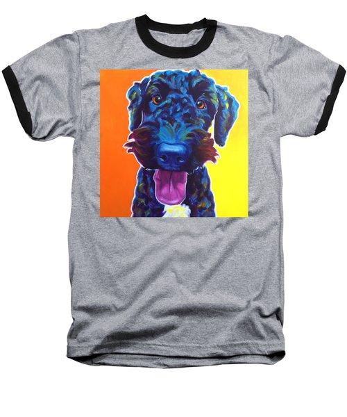 Airedoodle - Fletcher Baseball T-Shirt