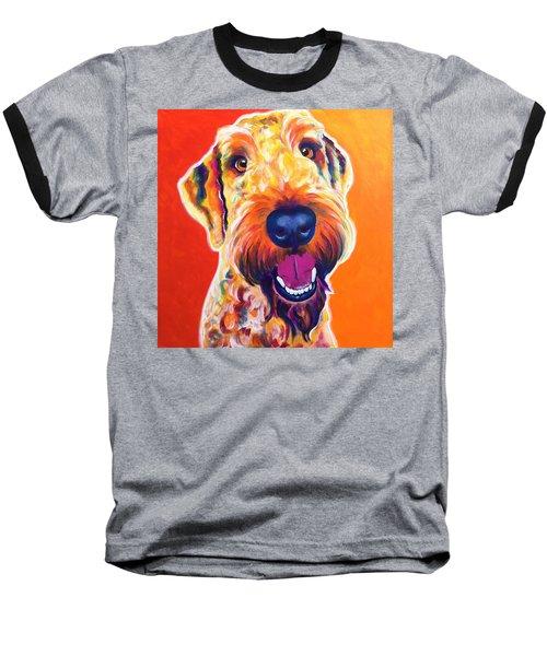 Airedoodle - Hank Baseball T-Shirt