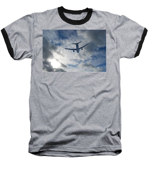 Airliner 01 Baseball T-Shirt by Mark Alan Perry