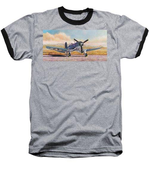 Airshow Corsair Baseball T-Shirt