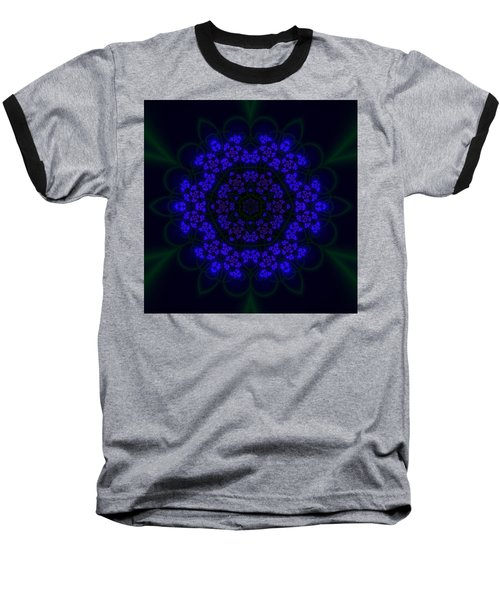 Akabala Lightmandala Baseball T-Shirt by Robert Thalmeier