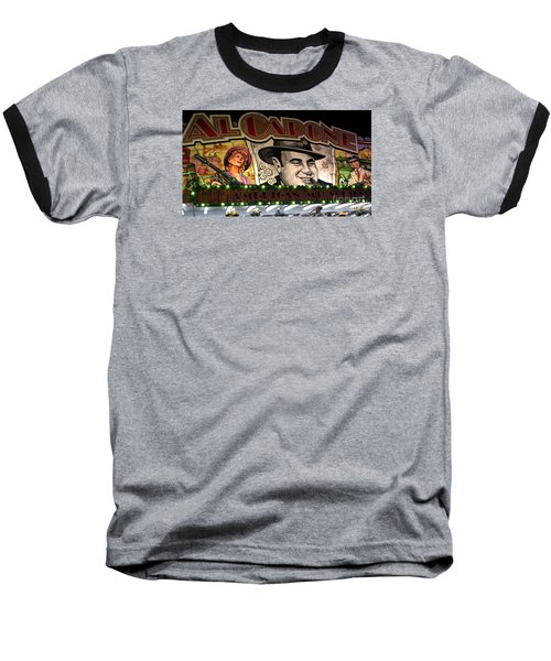 Al Capone On Funfair Baseball T-Shirt