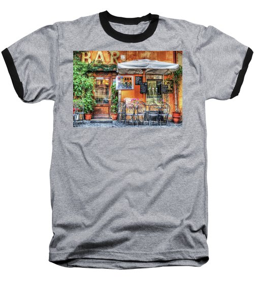 Baseball T-Shirt featuring the photograph Al Fresco Dining by Bellesouth Studio