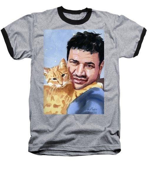 Alaa And Feras Baseball T-Shirt