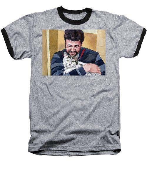 Alaa And Samson Baseball T-Shirt