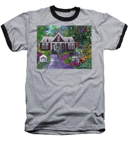 Alameda 1854 Gothic Revival - The Webster House Baseball T-Shirt