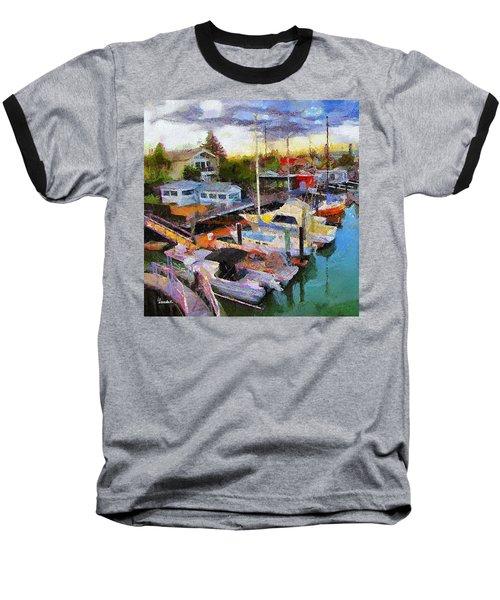 Alameda Life On The Estuary 2 Baseball T-Shirt