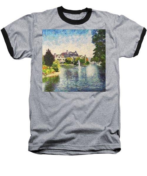 Alameda Marina Village 1 Baseball T-Shirt