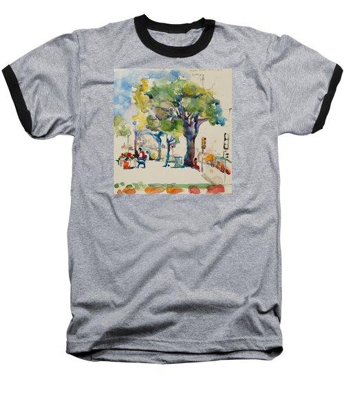 Alamo Plaza Baseball T-Shirt