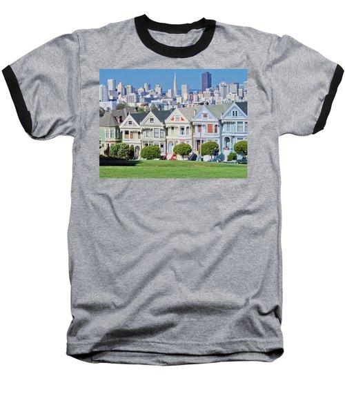 Alamo Square Baseball T-Shirt