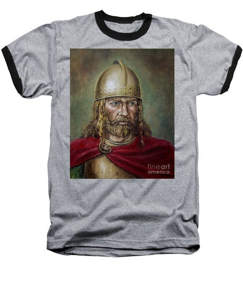 Alaric The Visigoth Baseball T-Shirt by Arturas Slapsys