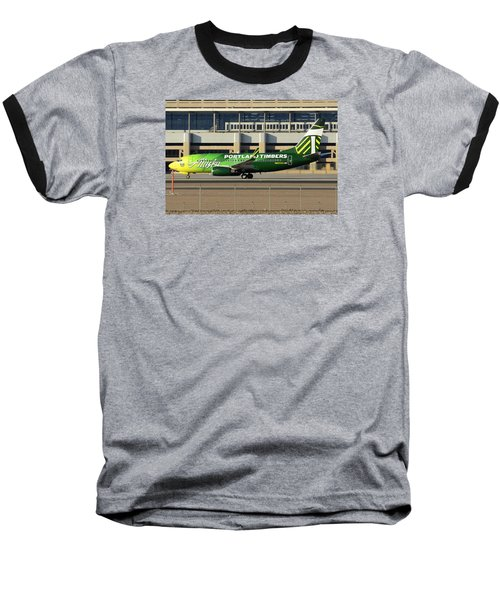 Alaska Boeing 737-790 N607as Phoenix Sky Harbor December 27 2015 Baseball T-Shirt by Brian Lockett