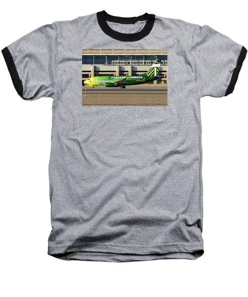 Alaska Boeing 737-790 N607as Phoenix Sky Harbor December 27 2015 Baseball T-Shirt