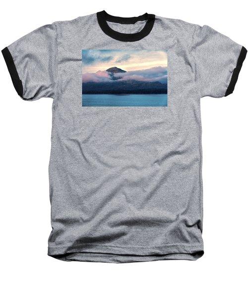 Alaska Dawn 2 Baseball T-Shirt by Lewis Mann