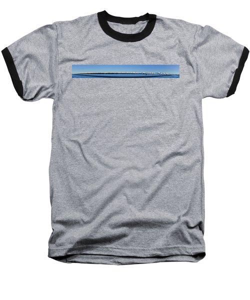 Alaska Highway Panorama Baseball T-Shirt