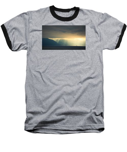Alaska Inside Passage Under The Clouds Baseball T-Shirt
