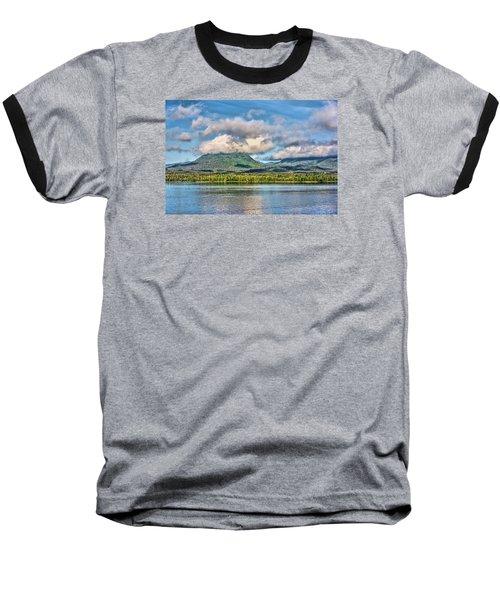 Alaska Morning Baseball T-Shirt by Lewis Mann