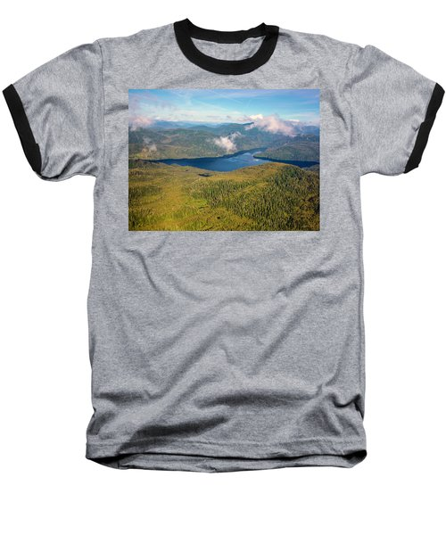 Baseball T-Shirt featuring the photograph Alaska Overview by Madeline Ellis