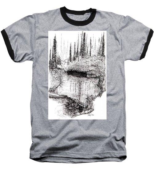 Alaska Pond Baseball T-Shirt