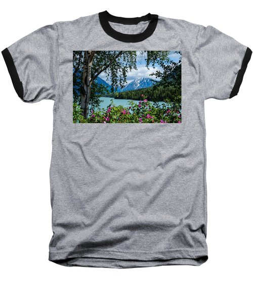 Alaska Through The Trees Baseball T-Shirt