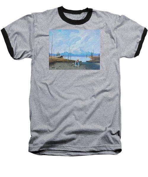 Alaskan Atm Baseball T-Shirt by Richard Faulkner