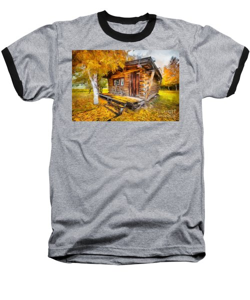 Alaskan Autumn Baseball T-Shirt